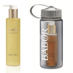 Cleansing Set Phytoactive Sensitive with a drinks bottle